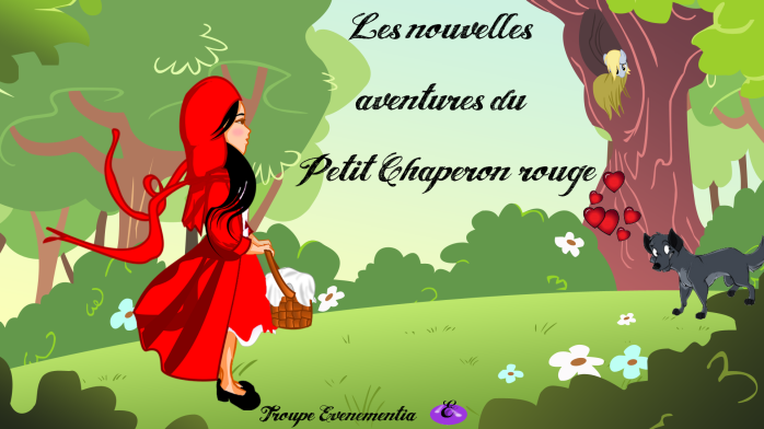 LES NOUVELLES AVENTURES DU PETIT CHAPERON ROUGE Affiche